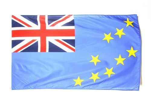 TUVALU FLAG 3' x 5' - TUVALUAN FLAGS 90 x 150 cm - BANNER 3x5 ft - AZ FLAG