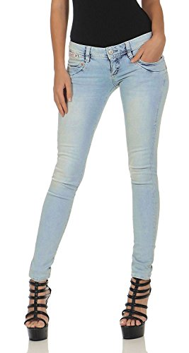 Jeans blue Light Herrlicher Denim Donna 7qwgPg