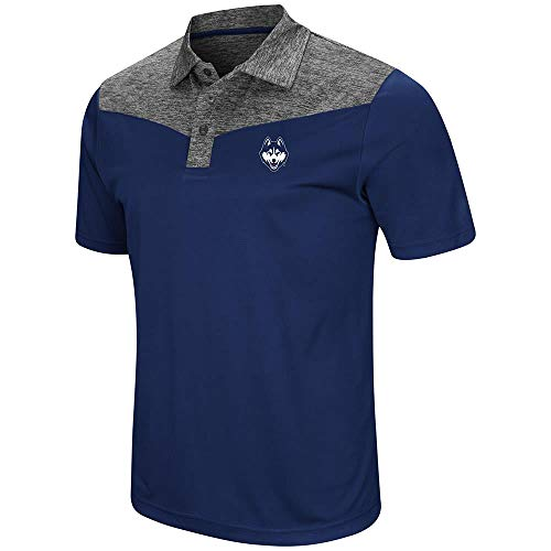 Mens UConn Connecticut Huskies Polo Shirt - 2XL for sale  Delivered anywhere in USA
