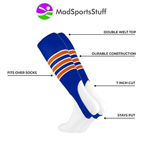 Royal blue baseball socks men