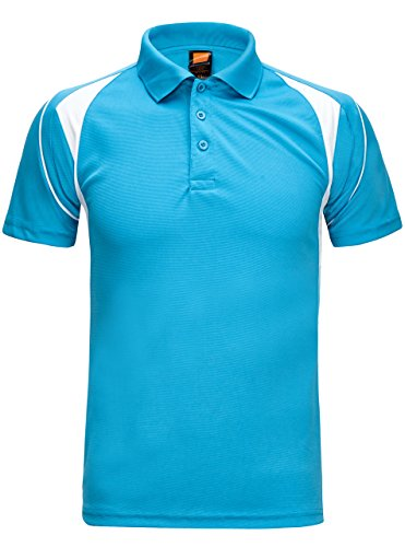 GEEK LIGHTING Men's Quick-Dry Short Sleeve Polo Sport Shirts – DiZiSports Store
