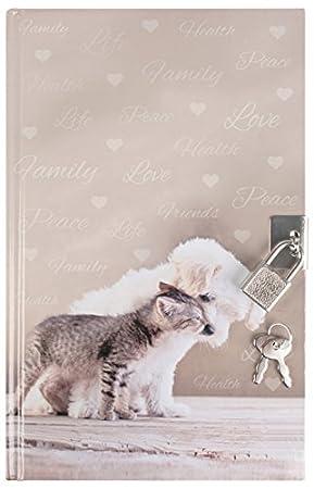 Büro Schreibwaren Notiz Tagebücher Mädchen Kinder Hund Katze