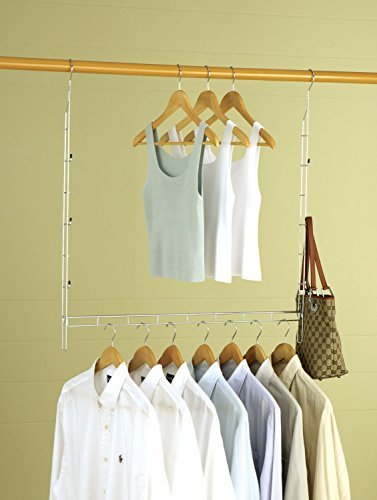 Organize It All 1346w Closet Doubler (Hang Double Closet)