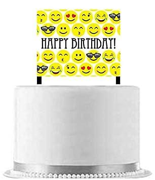 Amazon Emoji Cake Decoration Toppers