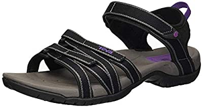 Teva Women's W Tirra Sandal (6 M US, Black-Grey)