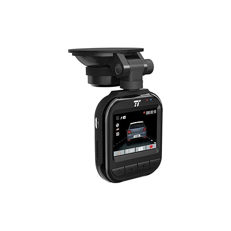 "TaoTronics 2K QHD Dash Cam, 2"" LCD Scree"