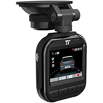 "TaoTronics 2K QHD Dash Cam, 2"" LCD Screen Car Dashboard Camera with Night Version, 160° Wide Angle Lens, G-Sensor, Parking Mode, and Emergency Recording"