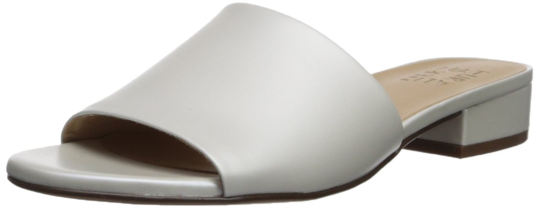 Naturalizer Women's Mason Slide Sandal B073X22DNW 4 B(M) US|White