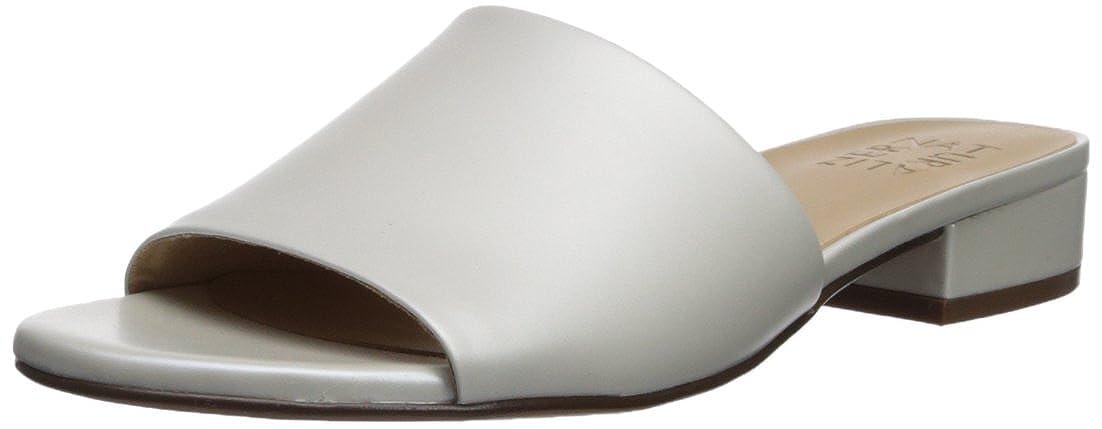 White Naturalizer Womens Mason Slide Sandal