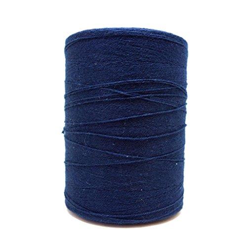 (8/2 Un-Mercerized Brassard Cotton Weaving Yarn ~ Navy Blue)