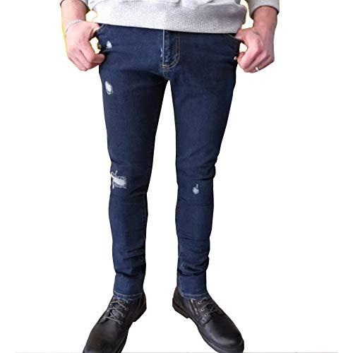 Off Omya003s18386019 Jeans Cotone white Uomo Blue FWgFwAxqrO