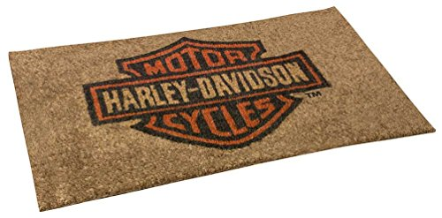 Harley-Davidson Core Bar & Shield Coco Entry Mat, 30 x 18 inches -