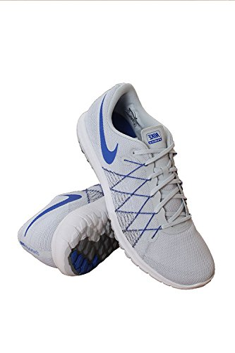 NIKE Mens Flex Fury 2 Running Shoe Grey/Blue POJOmVN9y