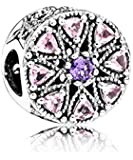 PANDORA - Medaillon Silber Charm glitzernde 925/1000 Pandora 791974NPRMX
