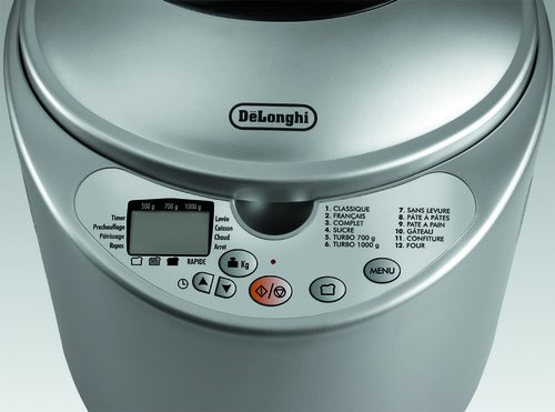 S, Plata, 450 W, 220/240 V, 50/60 Hz, 290 x 320 x 300 mm, 4800 g, 350 x 340 x 350 mm - Máquina de hacer pan [Importado de Francia]: Amazon.es: Hogar