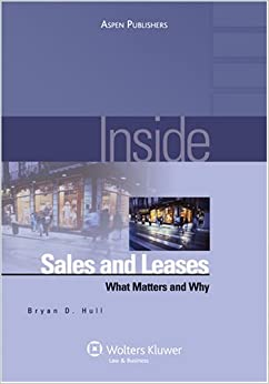 Book Inside Sales and Leases: What Matters and Why (Inside (Aspen))