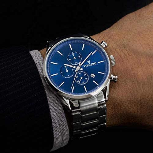 Buy watches mens luxury steel band quartz
