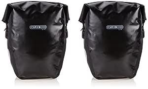 Ortlieb Back-Roller City Bicycle Bag (1 Pair), Black, 42 cm x 32 cm x 17 cm, 40 Litre