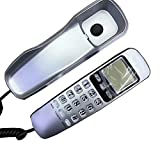 Retro phone Wall-Mounted Telephone,Storage Number Caller Id Office Home Fixed Landline, No Battery Multi-Color Optional