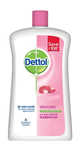 415rF992W2L - Dettol Liquid Soap Jar, Skincare - 900 ml at Rs 99 (43% off)