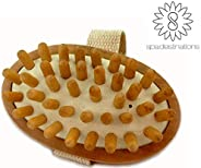 "Cellulite Massage & Circulation Brush by Spa Destinations""Creating The At Home Spa Ex"