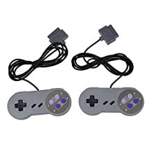 SODIAL(R) Replacement Controllers for Super Nintendo SNES Pack of 2