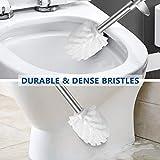 Vsadey Toilet Brush and Holder 2 Pack, Toilet