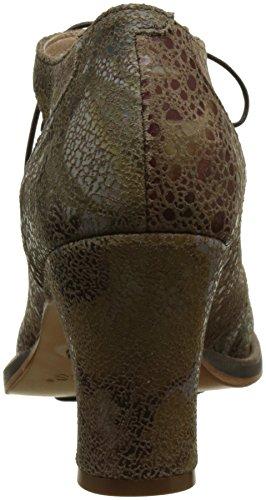 Neosens S278 Fantasy Floral Taupe Baladi, Zapatos de Tacón con Punta Cerrada para Mujer Verde (Floral Taupe)