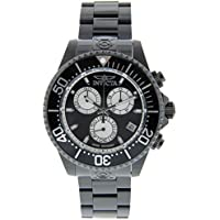 Invicta 26852 Pro Diver Men's 47mm Chronograph Black-Tone Steel Black Dial Watch