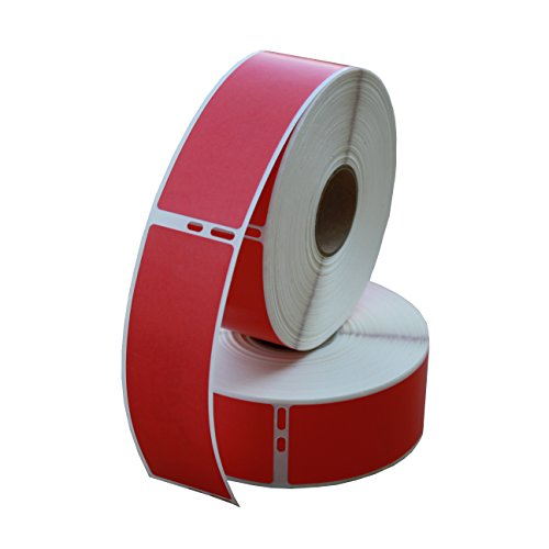 Dymo 30252 Compatible Address Labels 2 Red Rolls Per Pack