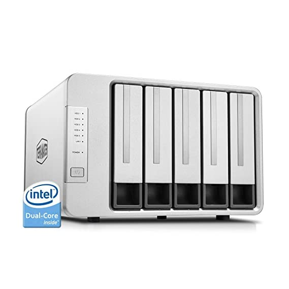 Digisol DG-NS5004 Network Attached Storage with Private Cloud, 4 Bay