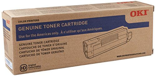 Oki Data C610 Series 44315304 Toner Cartridge (Black)