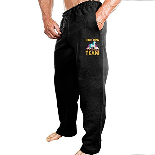 Hgjoafnkln 5Unicorn Drinking Team Wear Comfortable Classic Sweatpants. - Mens Team Pleated Pant