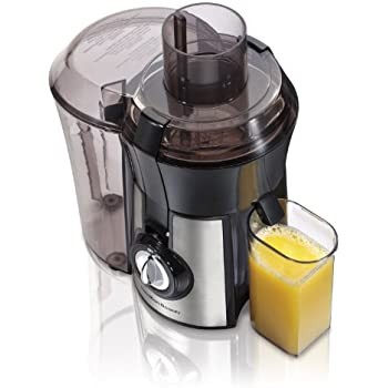 Hamilton Beach 67608 Big Mouth Juice Extractor, Stainless Steel (Discontinued)