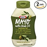 Kraft Mayonnaise With Olive Oil Squeeze Bottles 22 OZ (Pack of 24)