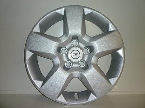 Juego de Tapacubos 4 Tapacubos Diseño Opel Zafira Desde 2009 r 16 () Logo Cromado: Amazon.es: Coche y moto