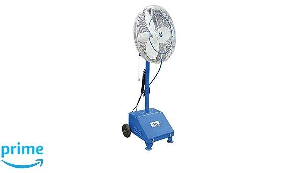 Amazon.com: SCHAEFER VF24 VersaFog Mobile Misting Fan with Pump, Blade Material: Aluminum, 1/3 hp, 24