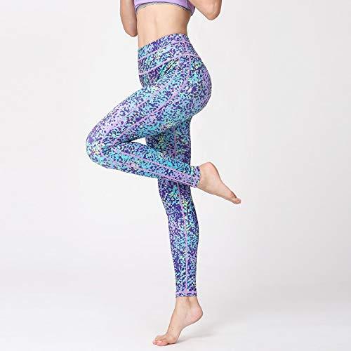 HK147 YJKJSK Nouveau Pantalons de Yoga Leggings de Sport pour Fitness Pantalons de Course à Pied Legging serrés Pantalons de Gymnastique pour Le Jogging Femme M