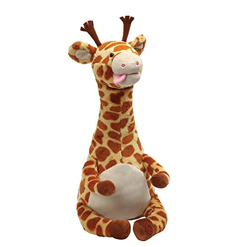 (Gund Baby GUND Twisty Tongue Twister Giraffe Animated Stuffed Animal, Multi)