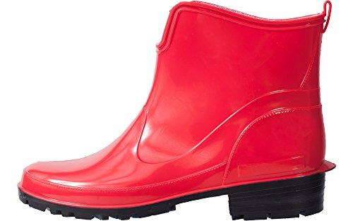 Gomma La Stivali Rosso Donna 930 Ladeheid In ZqORw8xn4A