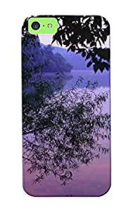 Hot Dawn, Radnor Lake State Park, Nashville, Tennessee First Grade Tpu Radnor Lake Phone Case For Iphone 5c Radnor Lake Case Cover