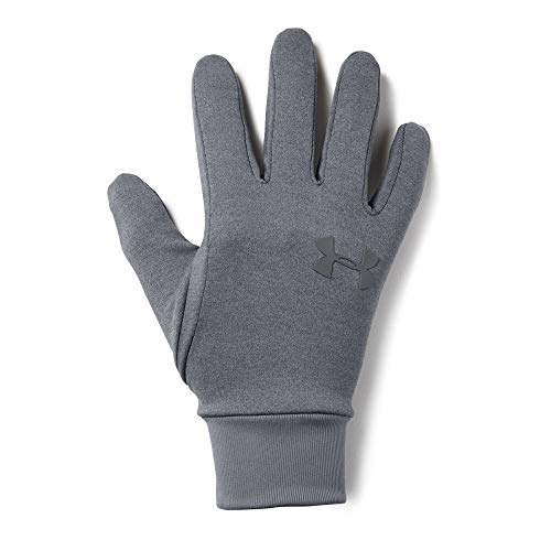 Under Armour Men's Armour Liner 2.0 Gloves, Steel (035)/Graphite, Small/Medium