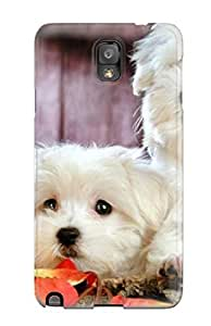 Faddish Phone Heart Melting Animals For Your Desktop Case For Galaxy Note 3 / Perfect Case Cover