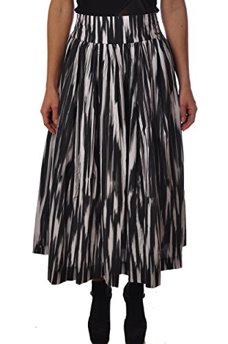 Donna Popeline 1554 Wwgon0332 W's Woolrich Ikat Long Gonna Skirt Po90 67dWCq