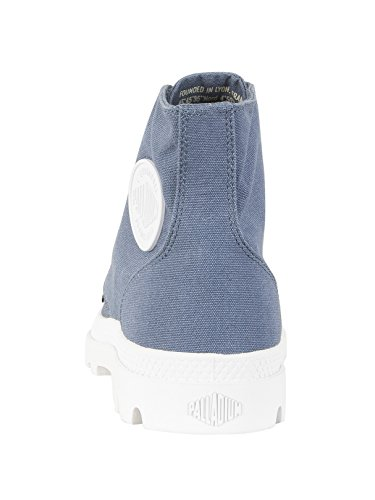 Pampa Zapatillas adultos Blanc hi top para unisex gris Palladium azul Mixte xxqOa4Sw1
