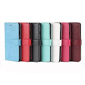 JOE Solid Colour Trapezoid Button Full Body Case for iPhone 5/5S (Assorted Colors) , White