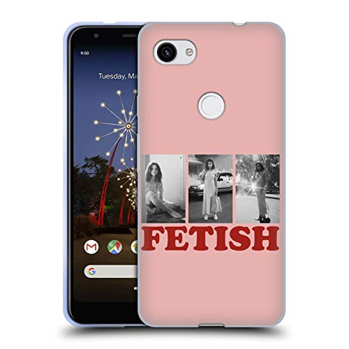 Official Selena Gomez Black & White Album Photos Fetish Soft Gel Case Compatible for Google Pixel 3a XL (Selena Gomez 3. Album)