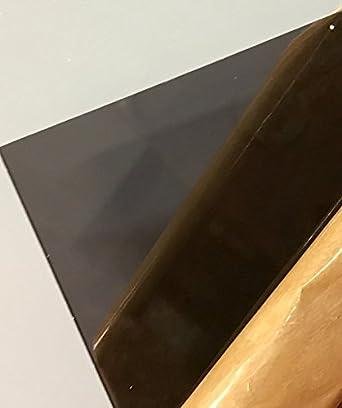 Amazon Com Sibe R Plastic Supply Dark Gray Smoke Transparent Acrylic Plexiglass 2074 1 8 24 X 36 Acrylic Plastic Sheet Industrial Scientific
