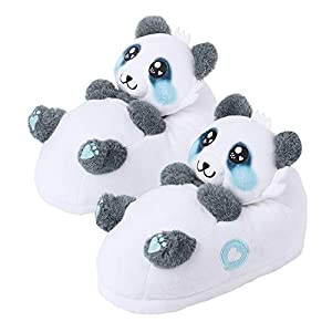 corimori 1847 - Animal Shaped Slippers, Fuzzy Plush Booties, Childrens Sizes 9-2 and Womens Sizes 4-13 (Various Models)