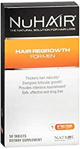 NuHair Hair Regrowth For Men [50 tablets]